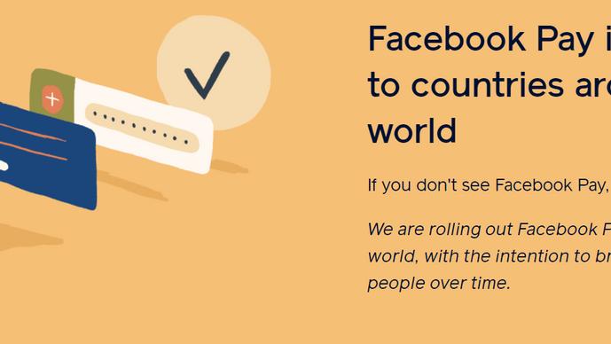 磨拳擦掌!脸书也赶着做支付