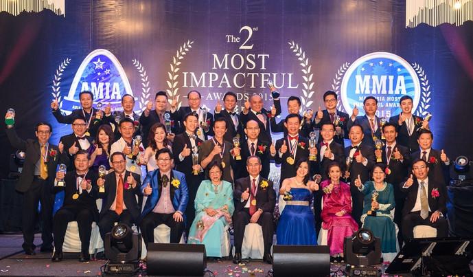 2015年第2届企业影响力奖颁奖礼 新山首个企业颁奖礼 圆满结束