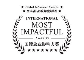 Global Influencer Awards - MOST IMPACT A