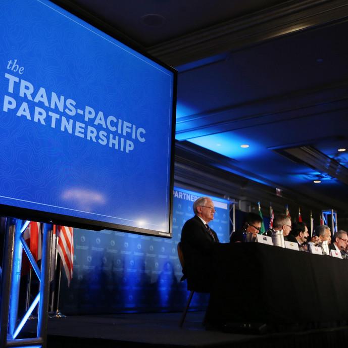 跨太协议TPP 主导全球 40%经济