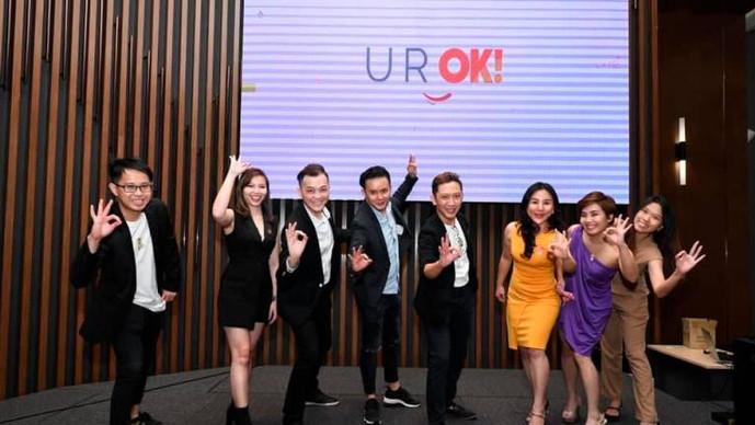 U R OK!通过标语进行沟通和联系的品牌
