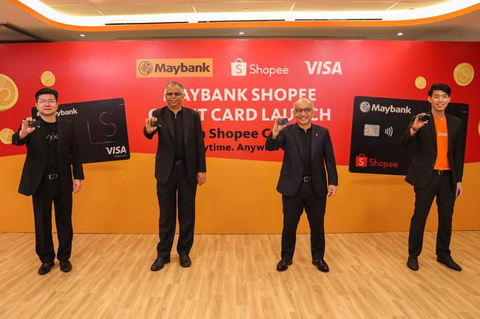 SHOPEE,马来亚银行和威士推出全新 MAYBANK SHOPEE 信用卡满足您的金融需求