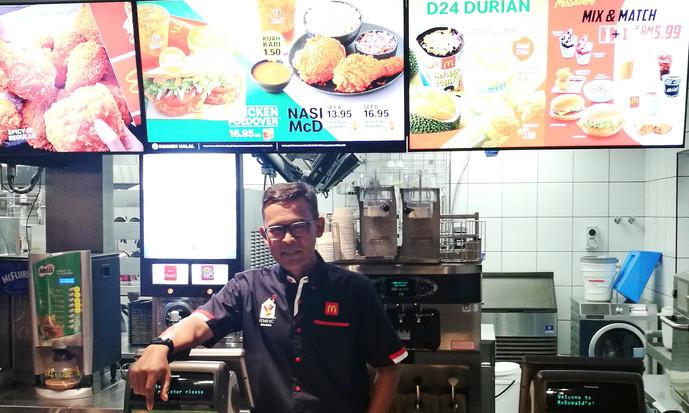 大马麦当劳去年营业额 创36年来最高纪录