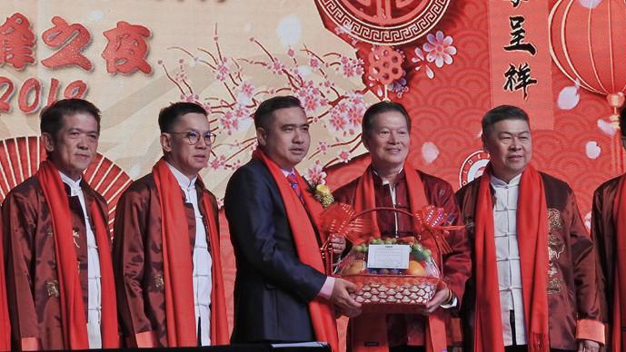 马来西亚连锁协会新春晚宴 陆兆福肯定零售业为经济支柱
