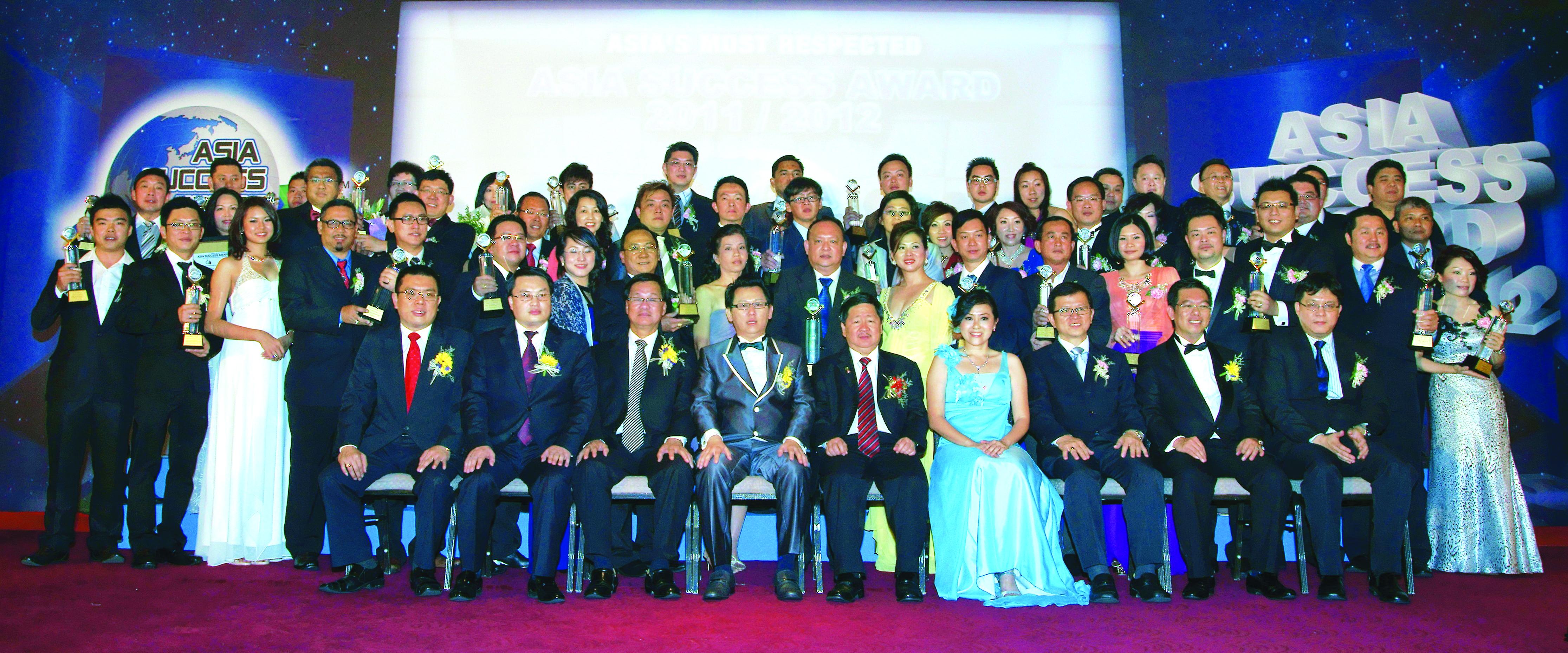 The 2nd Asia Success Award