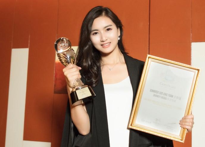 湖南美女总裁罗静媛 荣获亚洲最具影响力文化大奖