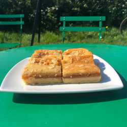 Apricot, Almond and Orange Vegan Slice