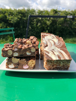 Rocky Road and Mars Traybake