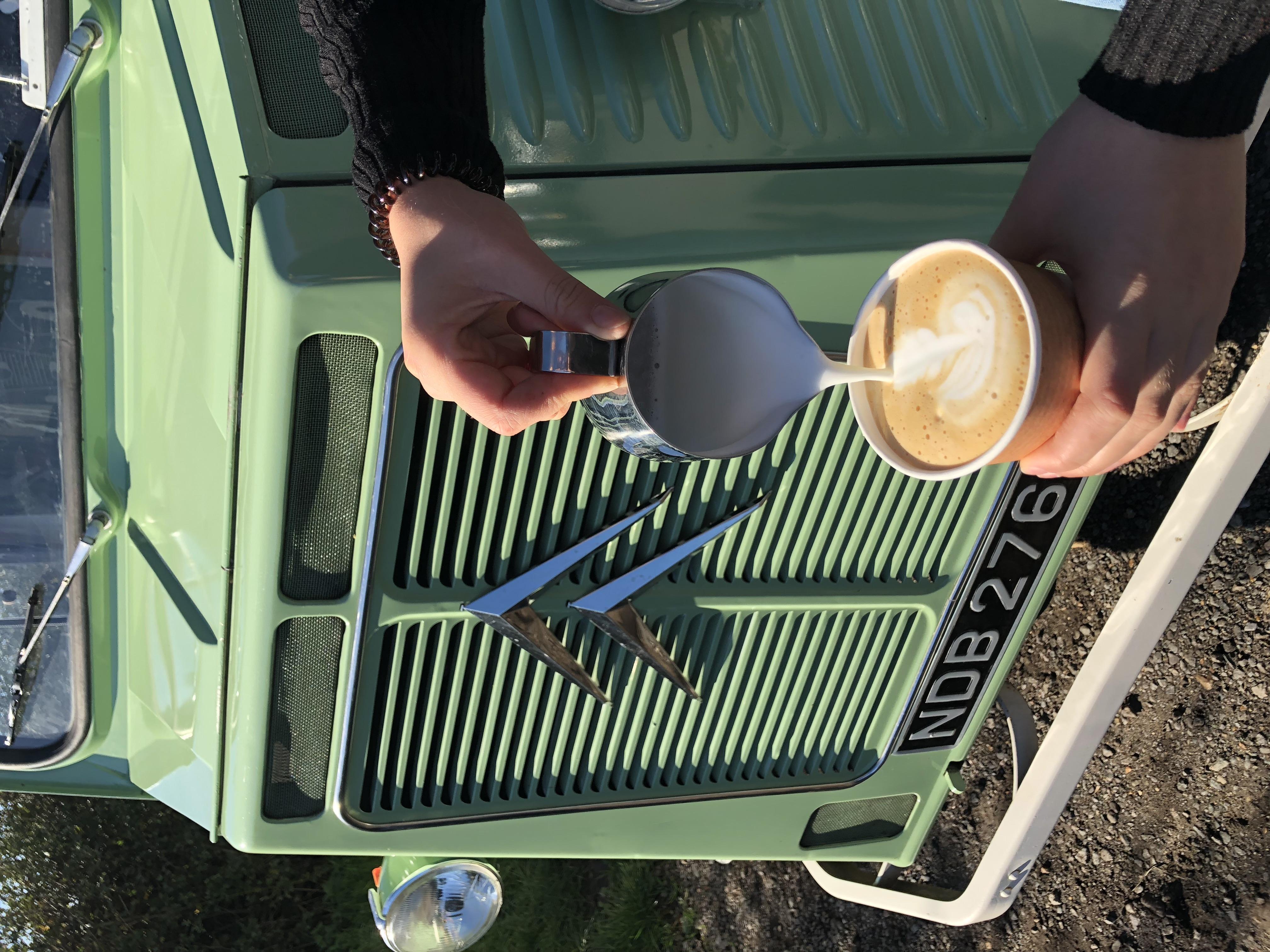 CiCi and coffee