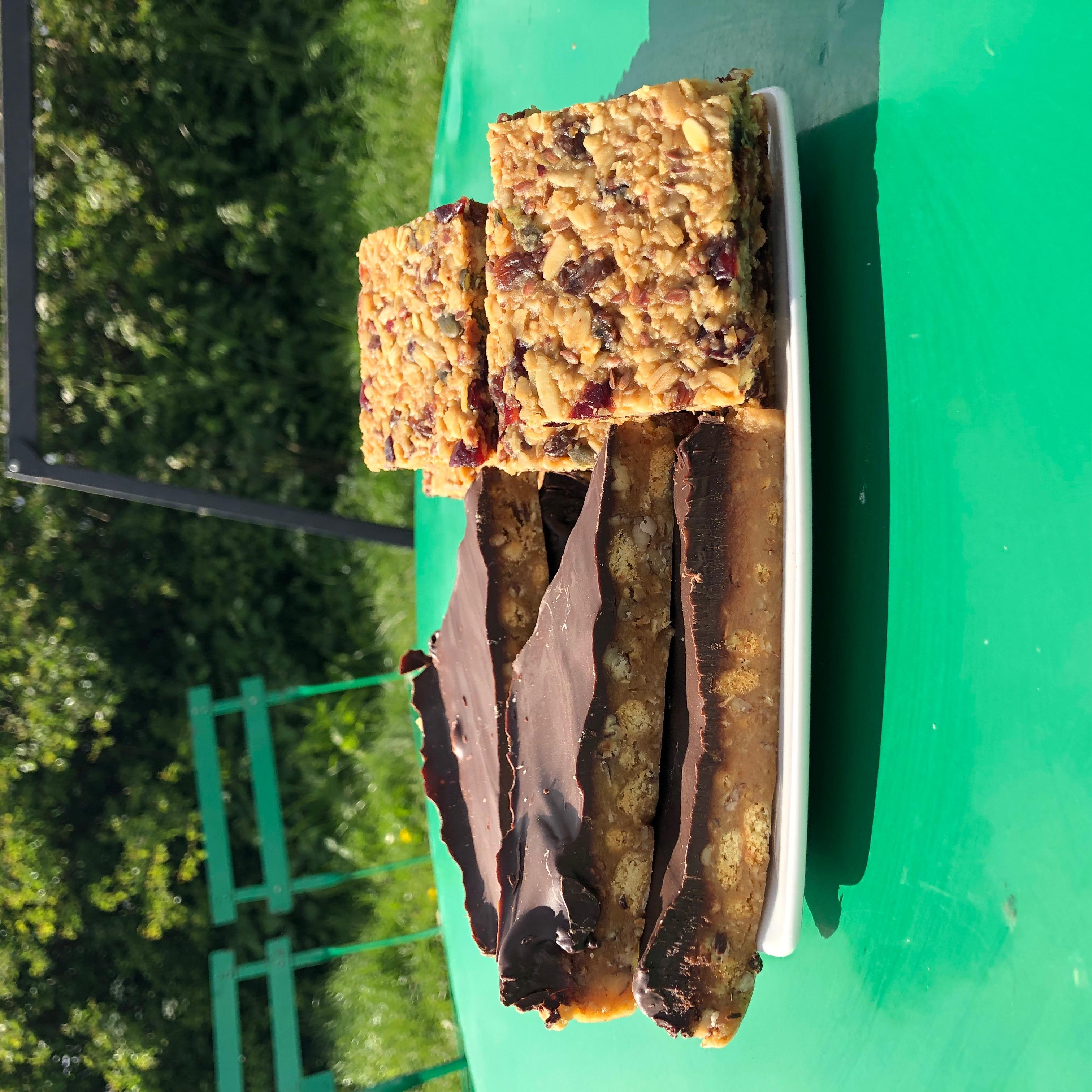 Pecan&Maple Traybake and Granola Slice