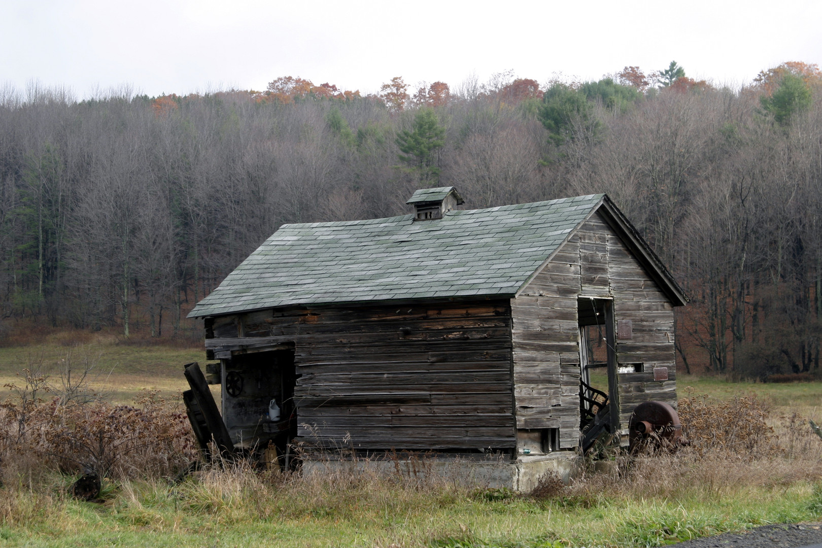 Bill Powers old shed NY07 2.jpg