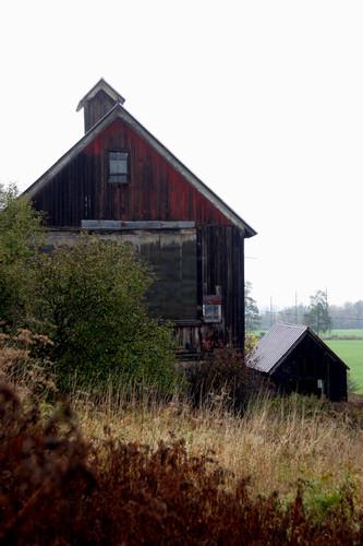 New York's Vanishing Landscape Red Barn