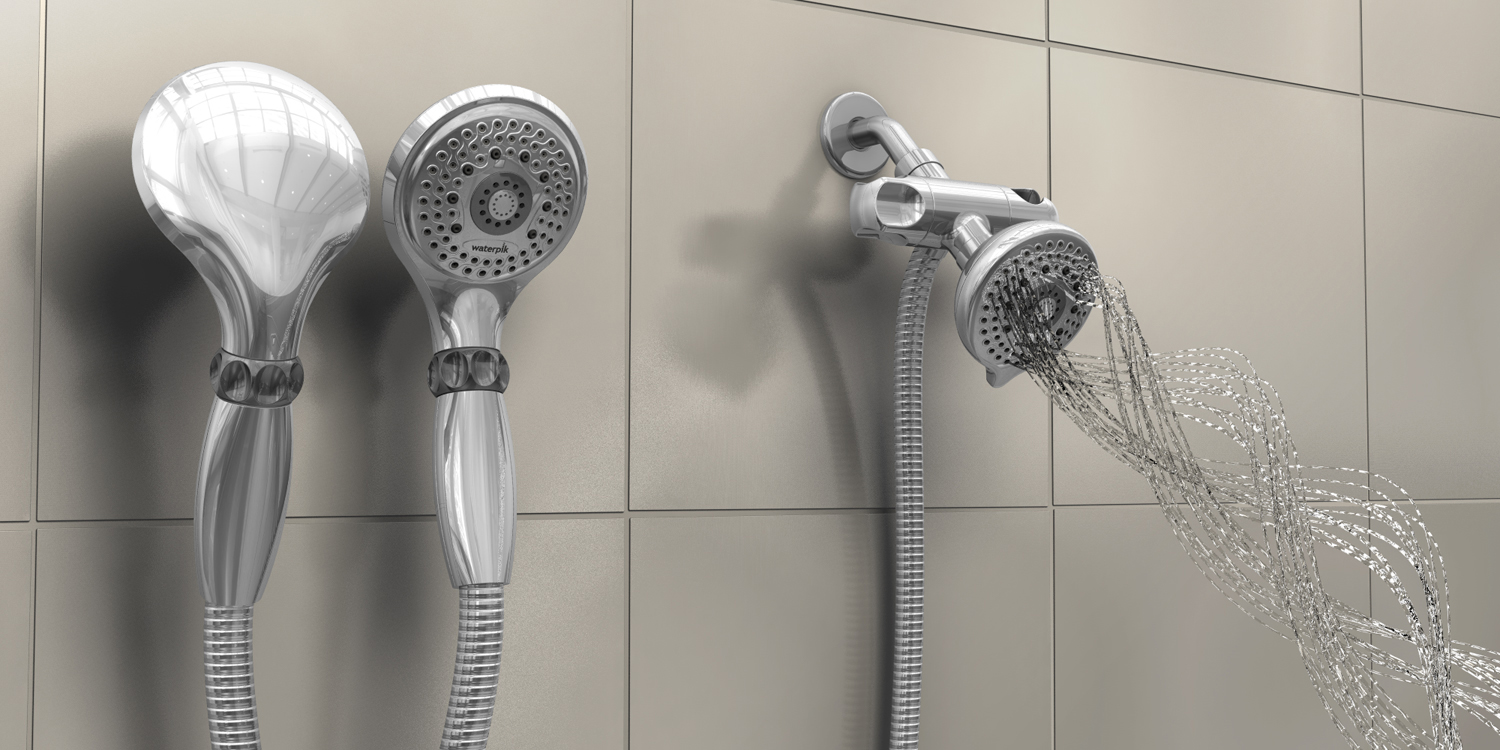 Waterpik  |  shower heads