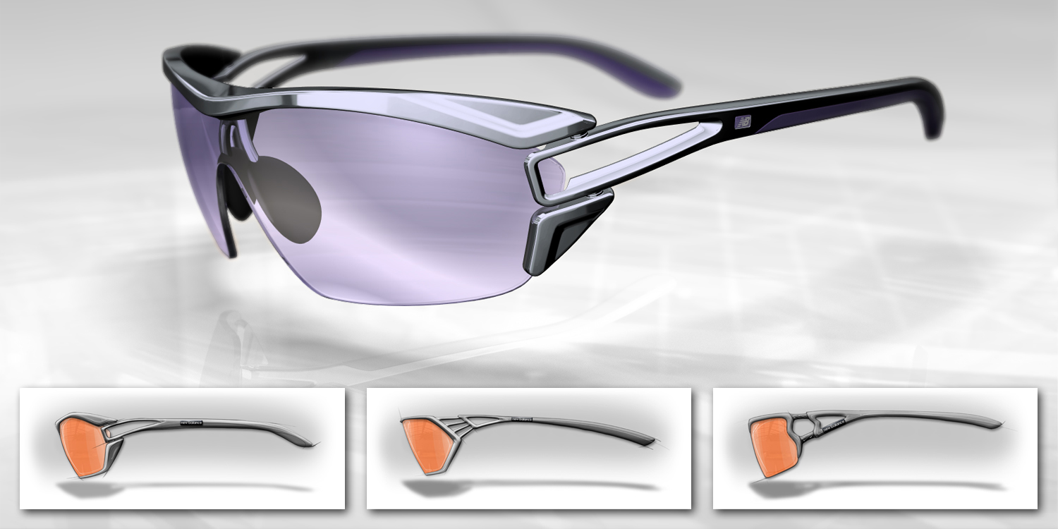 New Balance  |  sport sunglasses