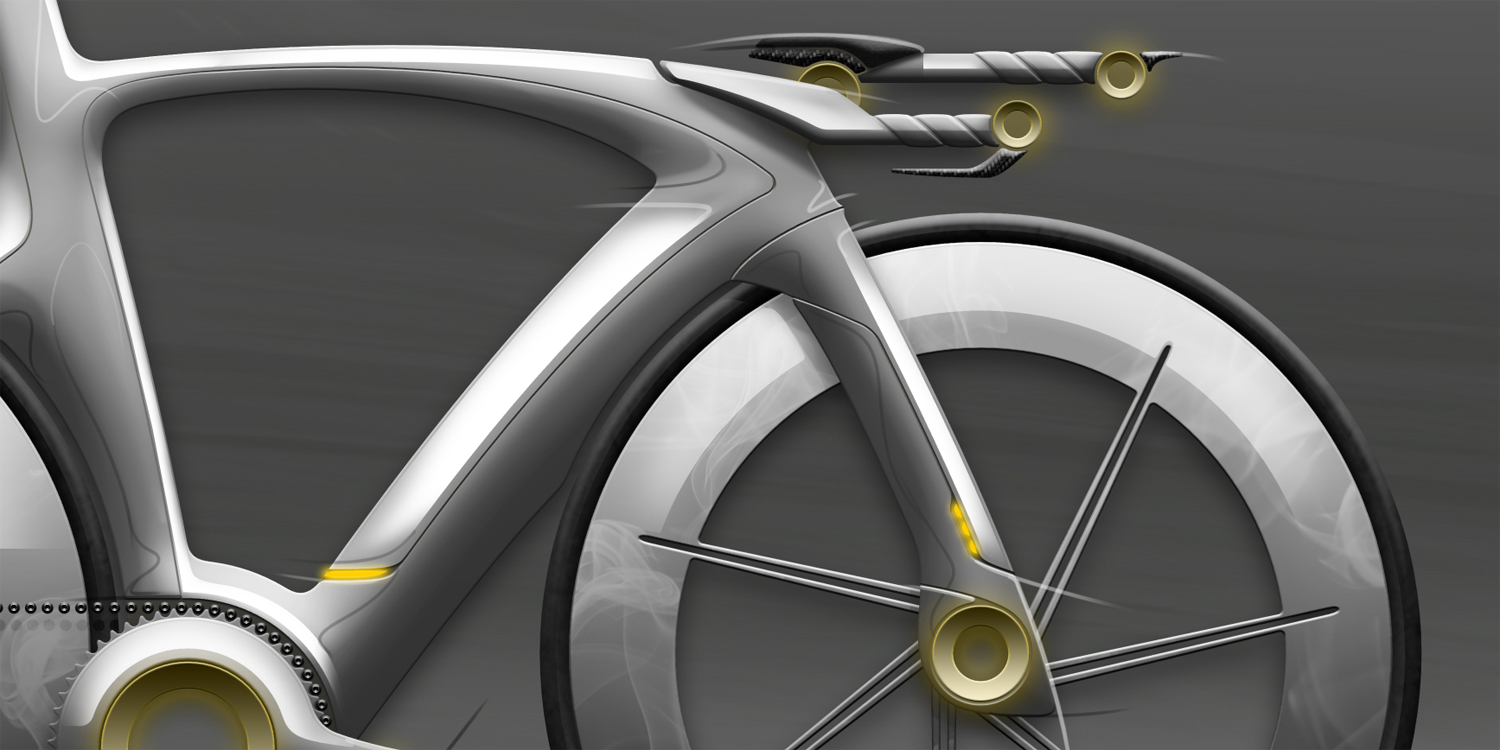Time trial bike concept