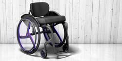 Carbon wheelchair