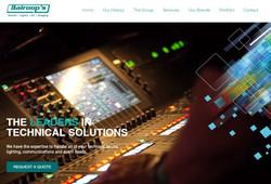 Balroops Website Design