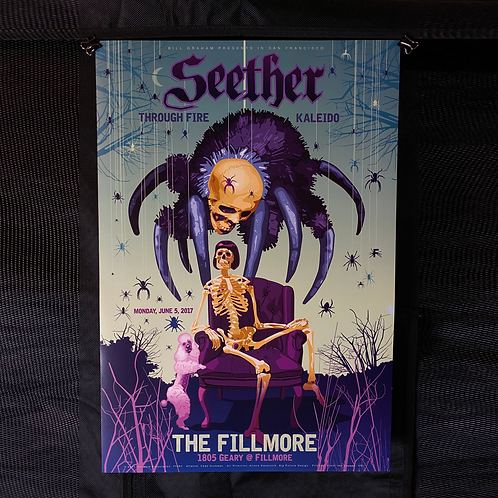 Fillmore San Francisco Poster