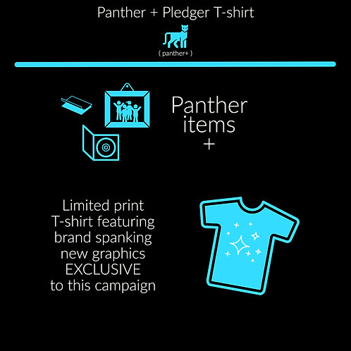 Panther +Exclusive Pledge T-Shirt