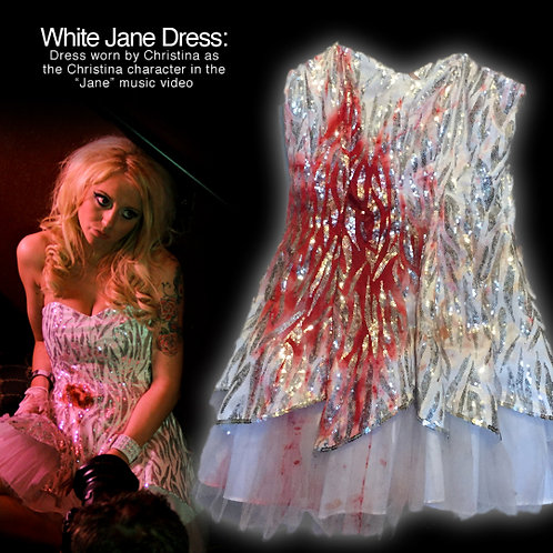 "White Dress worn in ""Jane"" Music Video"