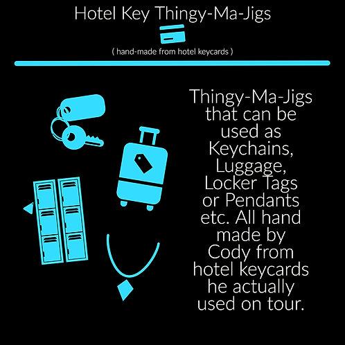 Hotel Key Thingy-Ma-Jigs