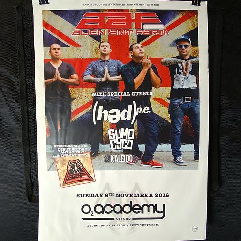 O2 Academy UK Poster