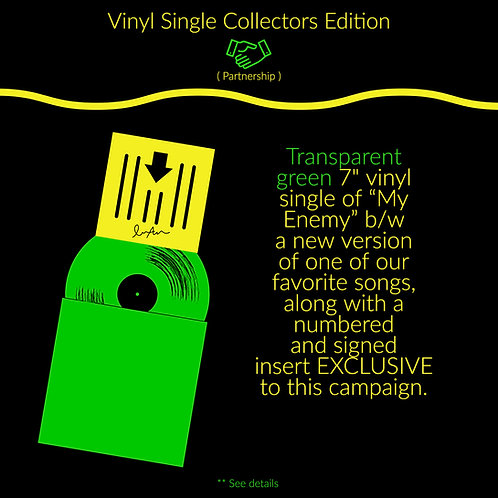 ** Vinyl Single Collectors Edition **