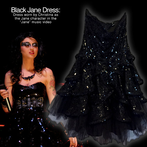 "Black Dress worn in ""Jane"" Music Video"
