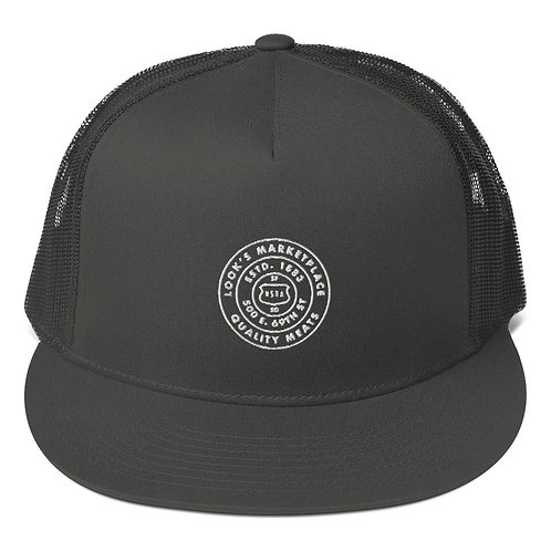 Badge Mesh Back Snapback