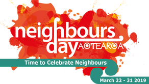 We want to celebrate with you and your neighbours.