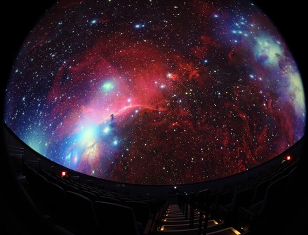Inside the Gene Roddenberry planetarium