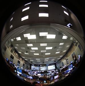 Johnson Space Center Mission Control