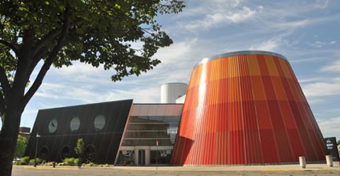 Delta College Planetarium exterior