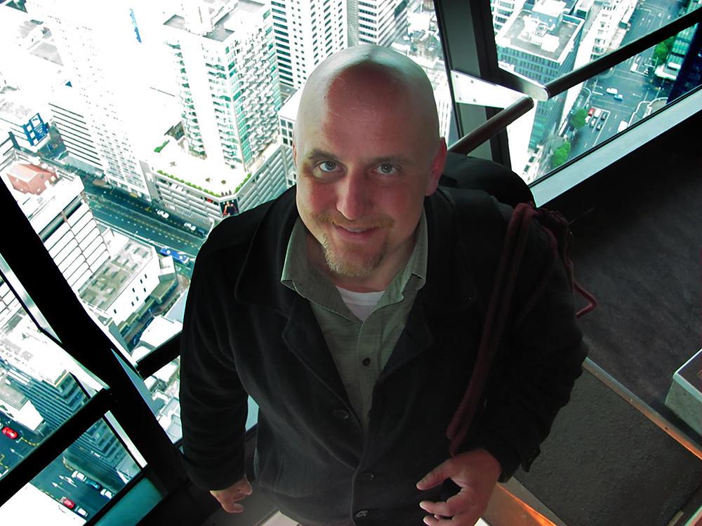 image of Jason Heaton looking at camera