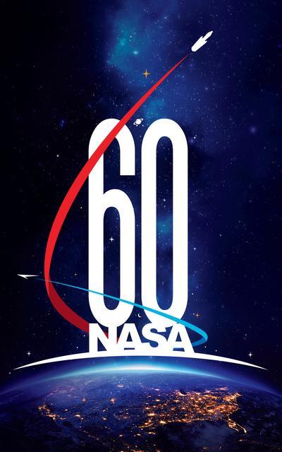 NASA 60th logo