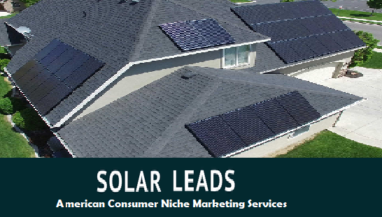 Solar Power Leads Generation from online Advertising to Home Owners.
