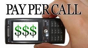 Exclusive Pay per calls