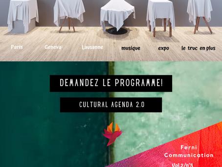 DEMANDEZ LE PROGRAMME! THE CULTURAL AGENDA 2.0, VOL.2/5