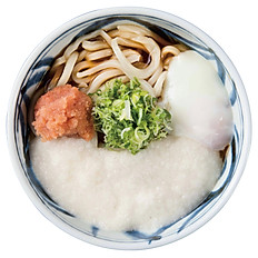 Egg Tororo & Mentai Udon
