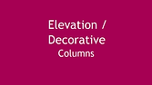Geofoam for Elevation and Decorative Columns