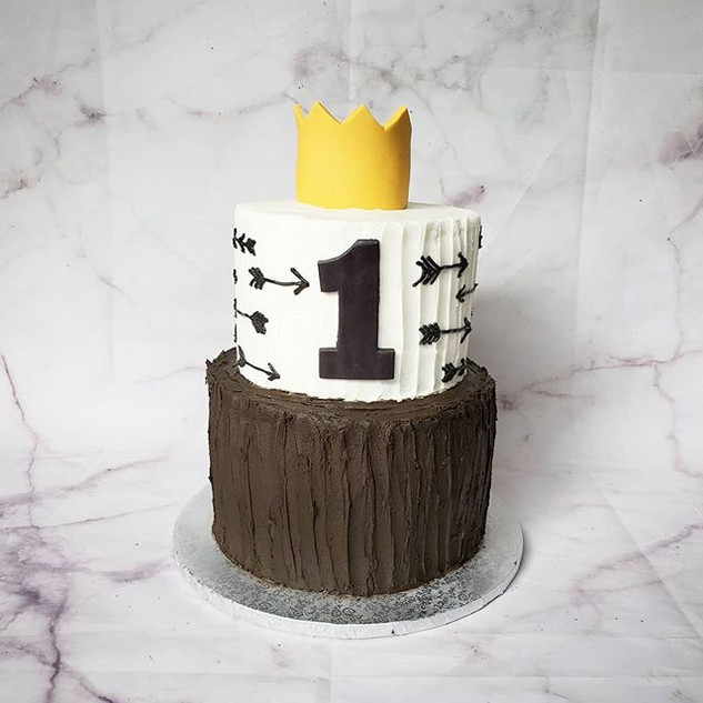 Wild one birthday cake! _#wildone #birth