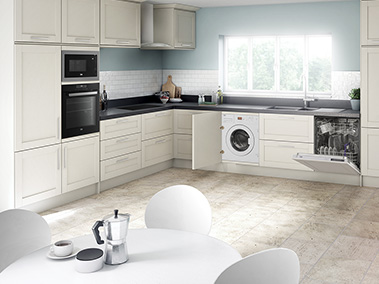 Beko Kitchen Open Plan
