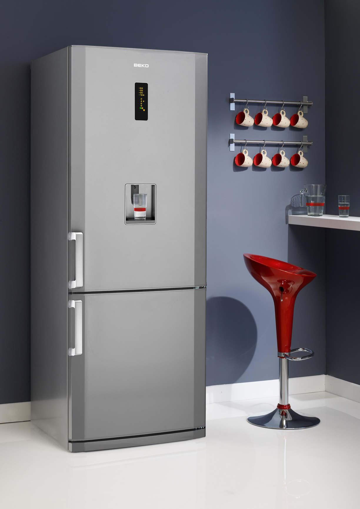BEKO 70cm Stainless Steel Fridge.jpg