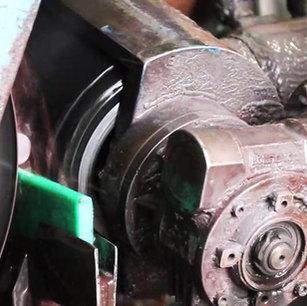 Smerigliatrice a due unità tubo tondo