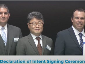SRS got invited to the signing ceremony of the US-Korea alliance on Strategic Infrastructure