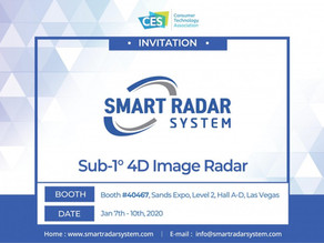 Smart Radar System attends CES 2020