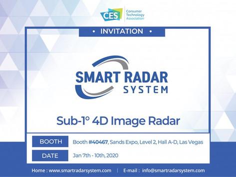 Smart Radar System attends CES 2020