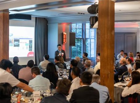 Smart Radar System's CEO speaking at Hemi Ventures Annual Summit