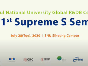 Smart Radar System CEO, Paul speaks for Supreme S Seminar! (Seoul National University)
