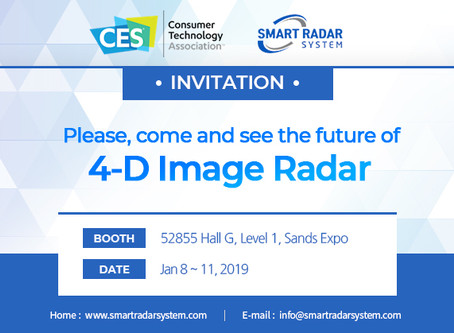 Smart Radar System attends CES 2019